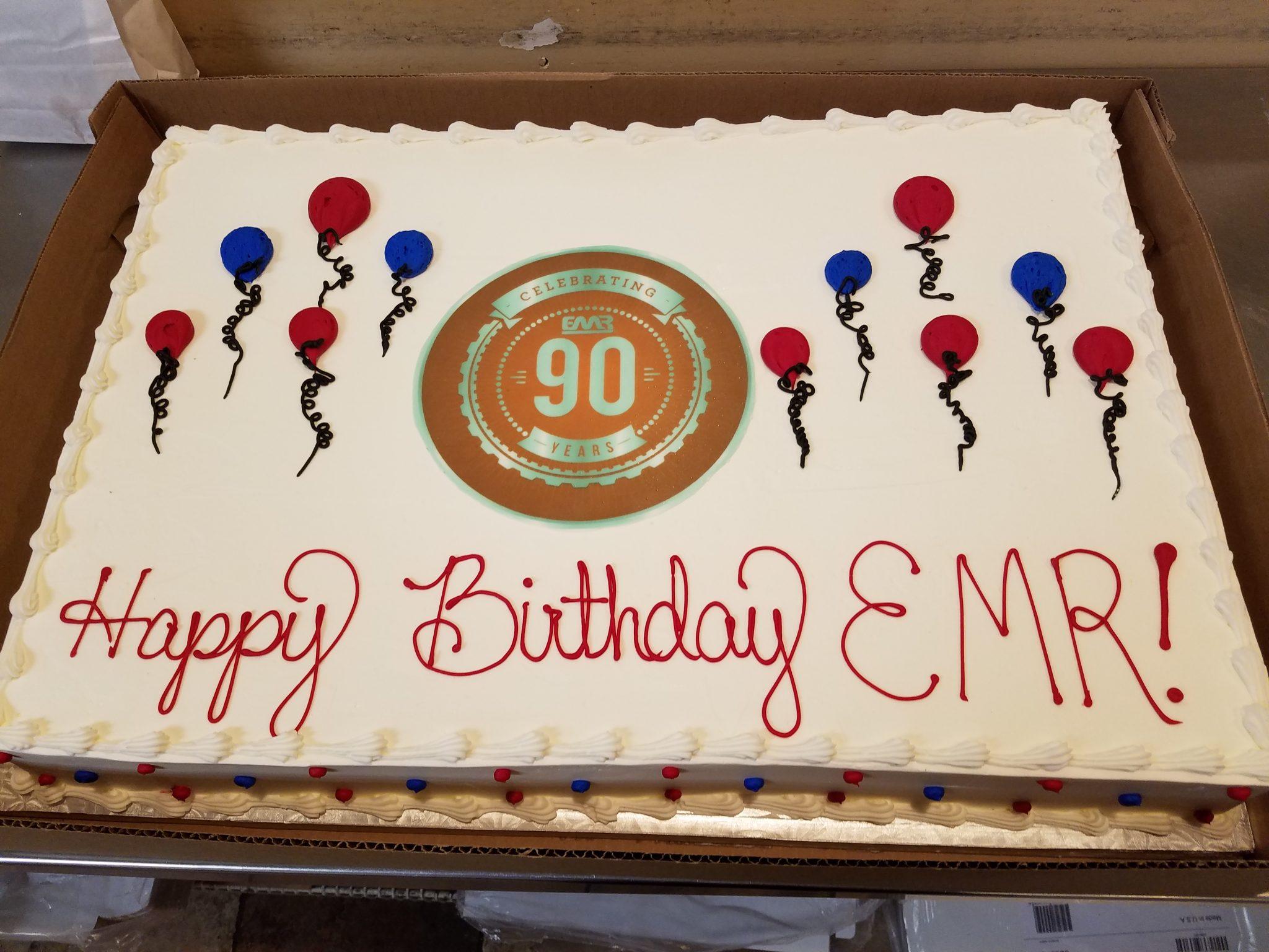 EMR's 90th Birthday